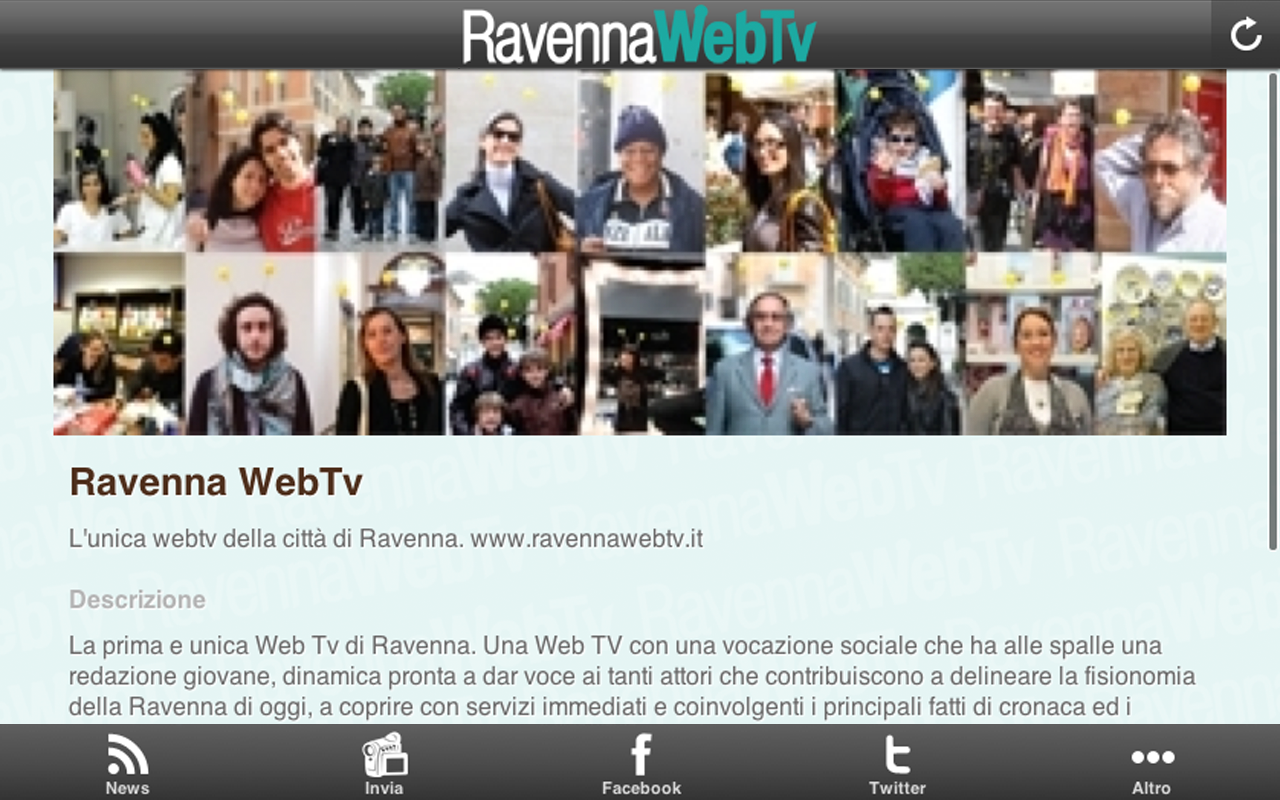 RavennaWebTv - screenshot