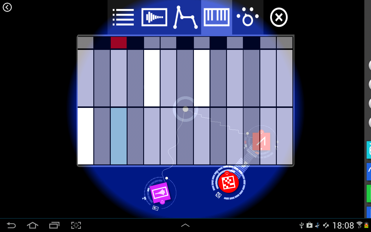 Reactable mobile- screenshot