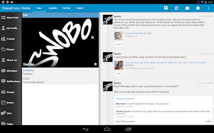 Friendcaster Pro Screenshot 2