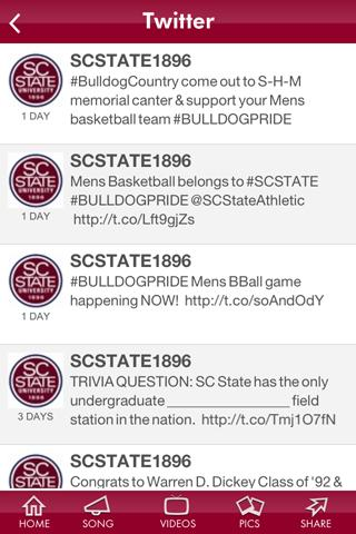 SC State University - screenshot