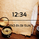 LiveWallpaper Paper Clock