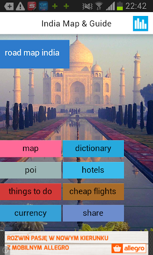 India Offline Map Weather