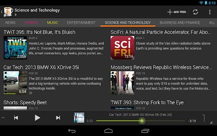 BeyondPod for Tablets - Legacy Screenshot 16