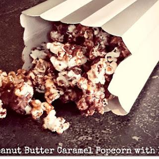 Peanut Butter Caramel Popcorn With Bourbon [Vegan, Gluten-Free]