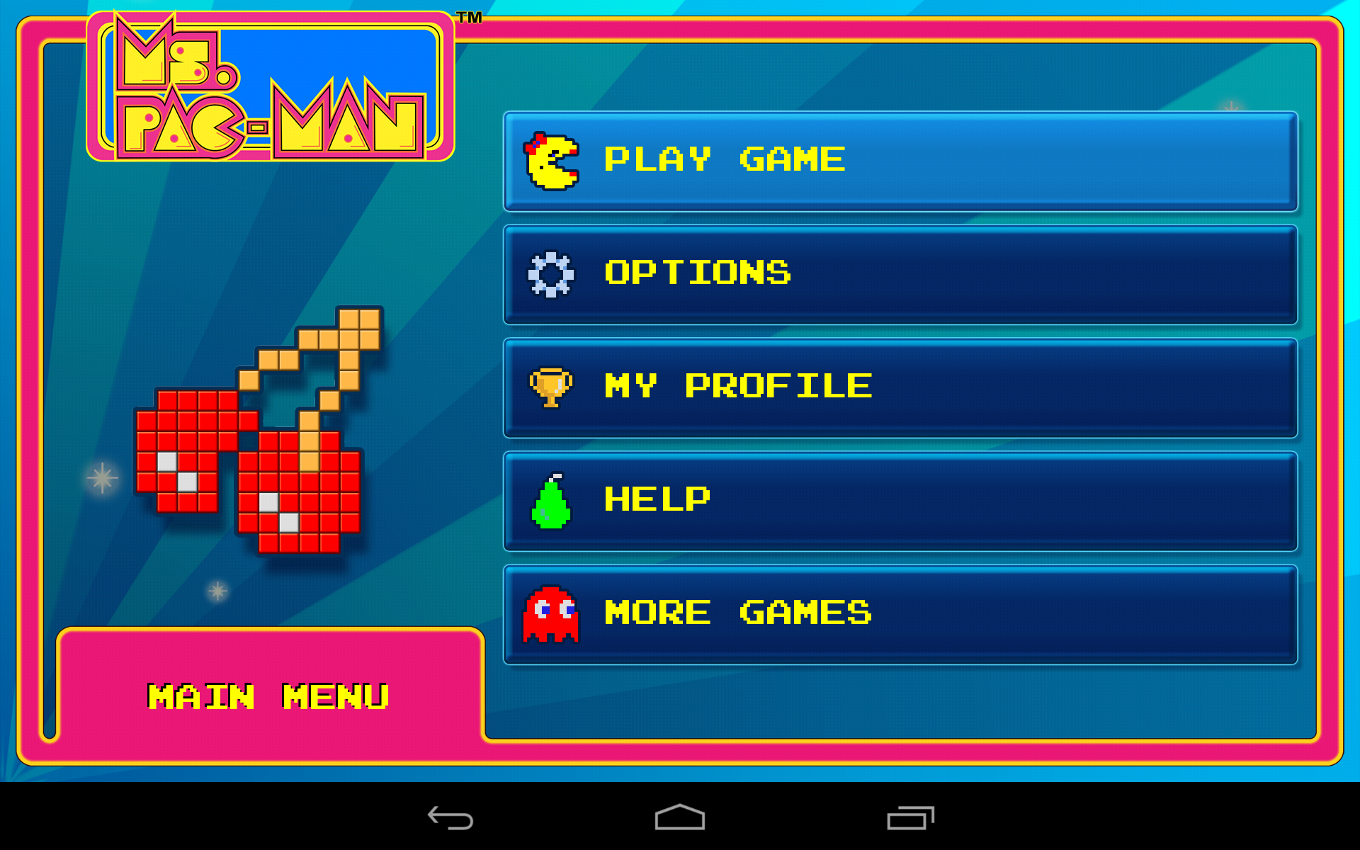 Ms. PAC-MAN by Namco screenshot #5