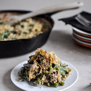 Lightened Up Fresh Green Bean Casserole Recipe