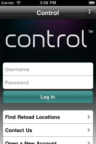 My Control Card - Mobile Banki - screenshot