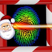 Santa's Finger Print Scanner