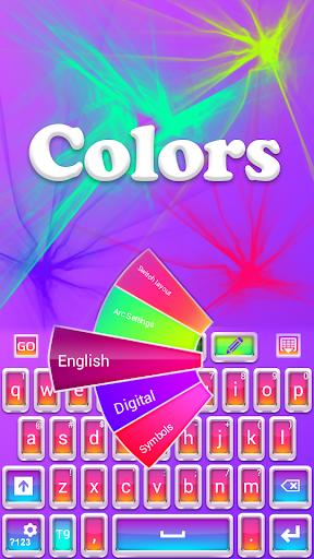 GO键盘颜色