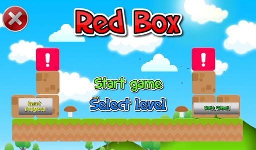 Красный куб Red Box 3D