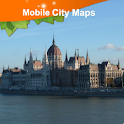 Budapest Street Map logo