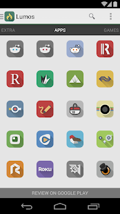 Lumos - Icon Pack - screenshot thumbnail
