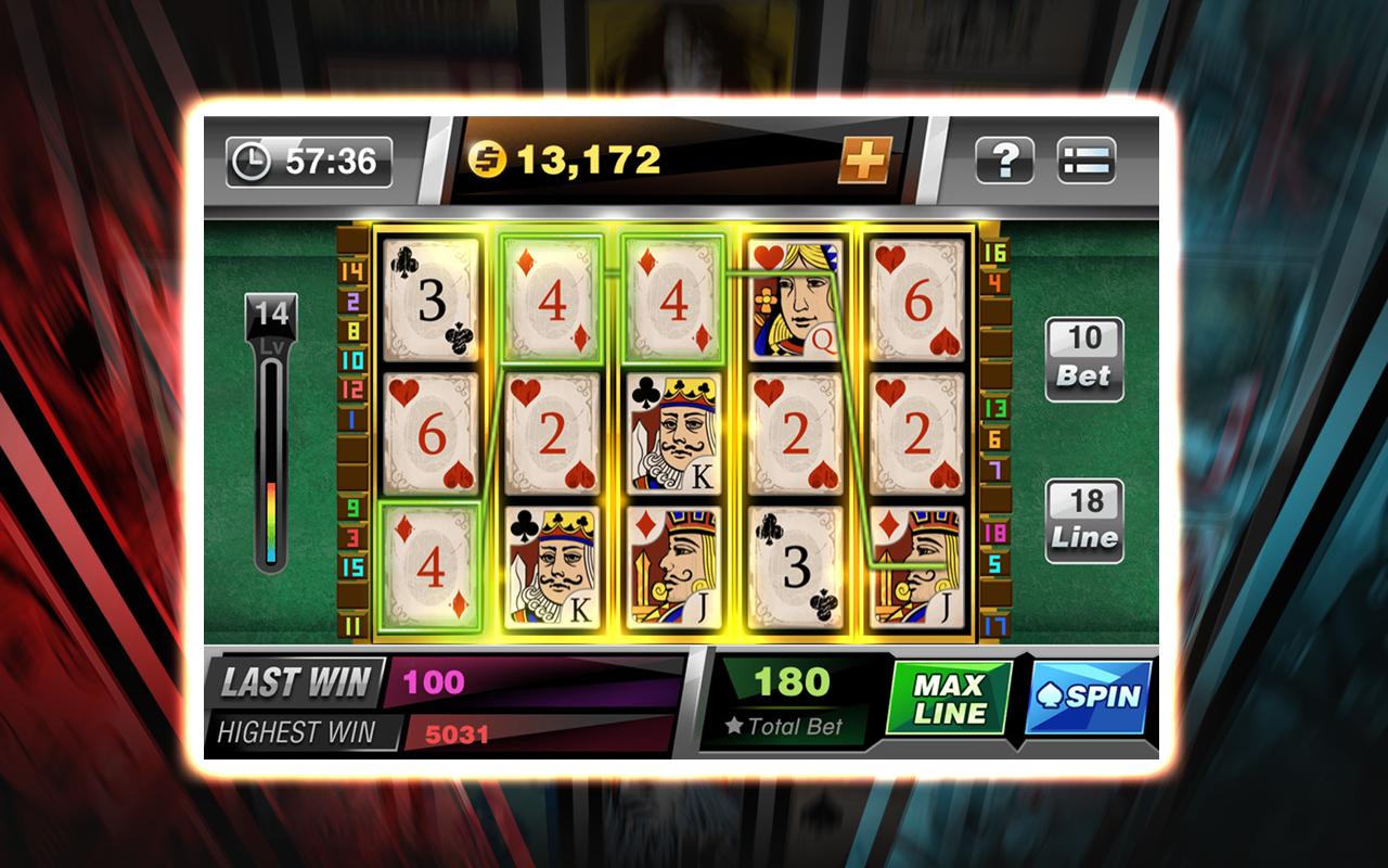 slots games poker