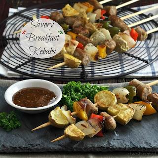 Savory Breakfast Kebabs