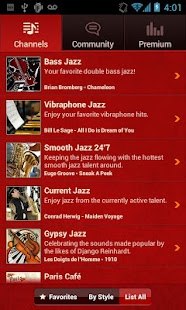 JAZZ RADIO - screenshot thumbnail