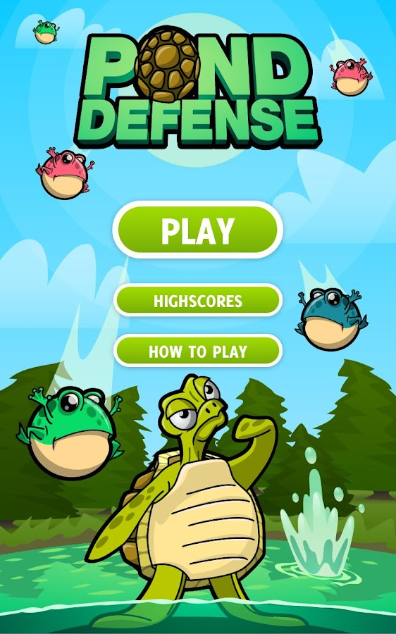 Pond Defense - screenshot