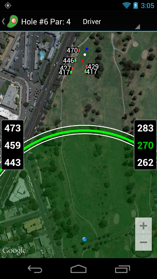 Golf Shot Tracker Pro Golf GPS- screenshot
