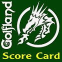 Golfland Mini Golf Scorecard logo