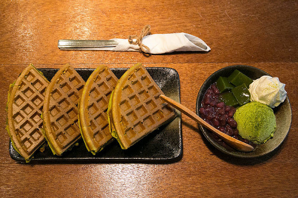 南島夢遊 三訪 老屋咖啡店民宿 好好拍,抹茶紅豆鬆餅依舊好吃!