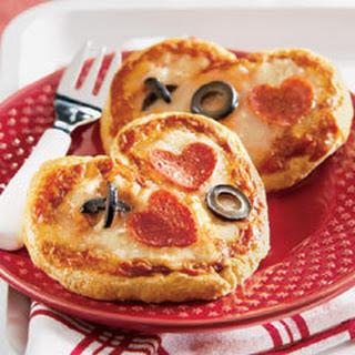 Valentine Pizzas