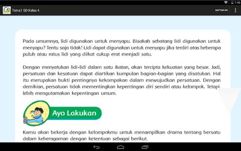 Bse Kur 2013 Sd Kelas 4 Tema 1 Android Apps On Google Play