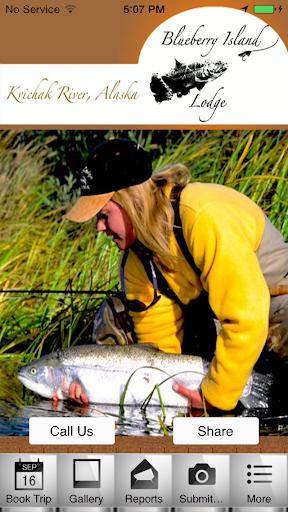 【免費運動App】Blueberry Island Fishing Lodge-APP點子