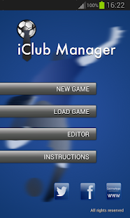 iClub Manager Free - screenshot thumbnail