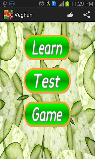 Learn Vegetable - Memory Game