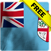 Fiji flag live wallpaper Free
