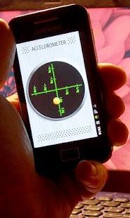 Accelerometer Sensor - screenshot thumbnail