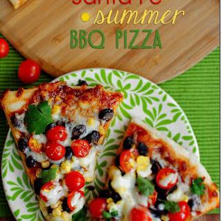 Santa Fe Summer BBQ Pizza.