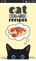 Screenshot of Cat Food Recipes