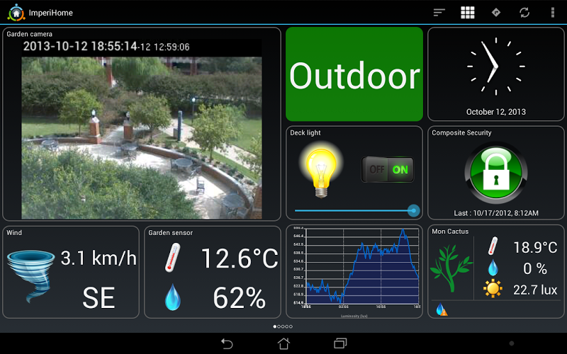 ImperiHome \342\200\223 Smart Home & Smart City Management Screenshot 9