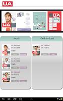 Screenshot of UA-vakblad