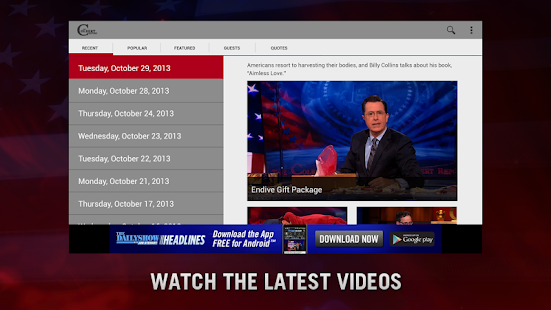 The Colbert Report - screenshot thumbnail