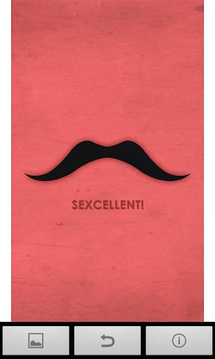 【免費攝影App】Mustache Wallpapers-APP點子