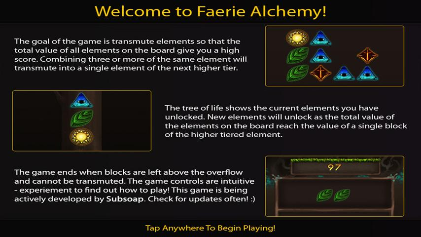 Faerie Alchemy HD (Free) - screenshot