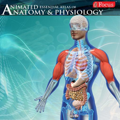 Anatomy Atlas - Animated LOGO-APP點子