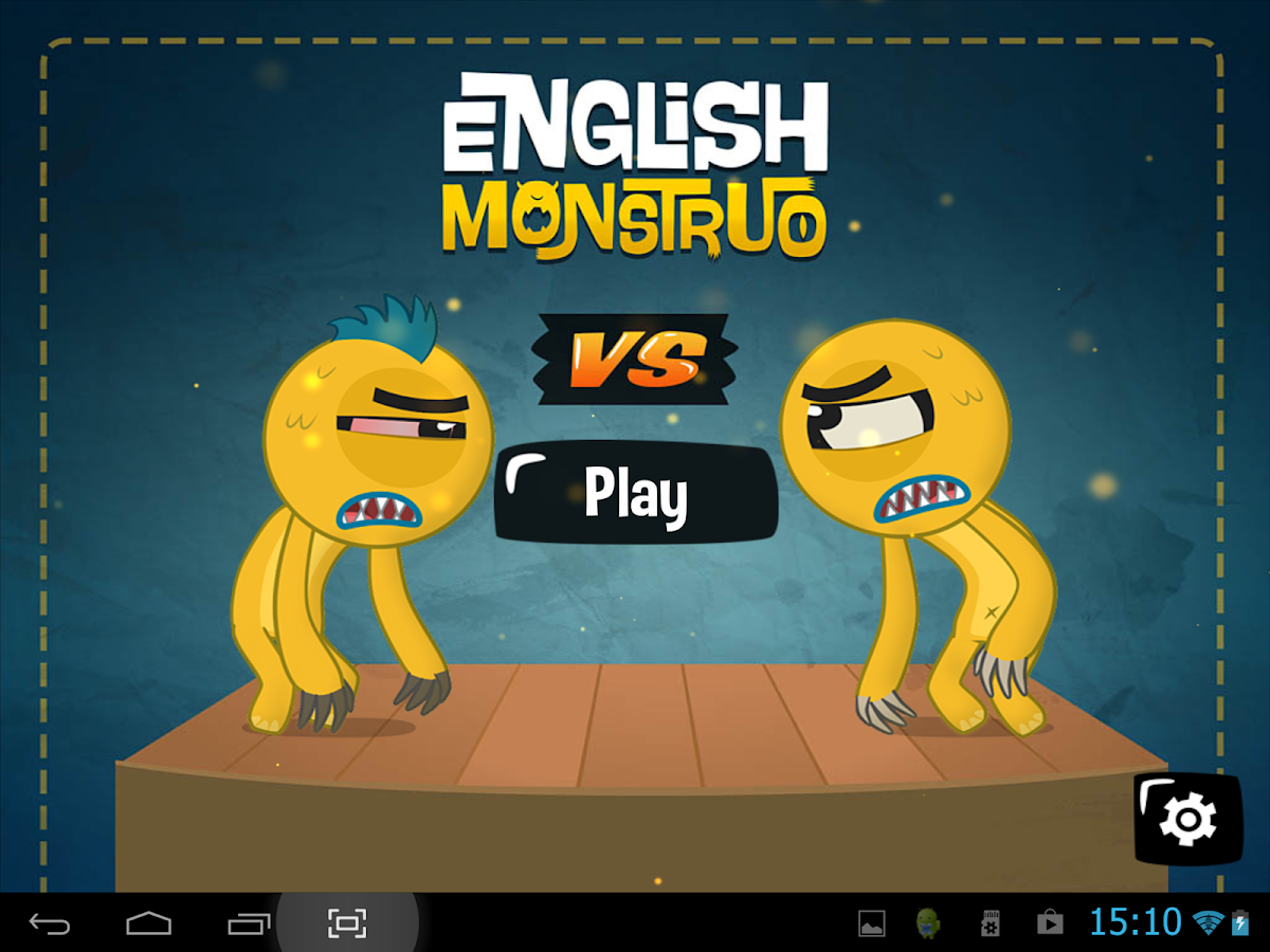 ENGLISH MONSTRUO: captura de pantalla