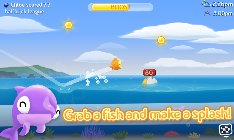 Fish Out Of Water! - screenshot