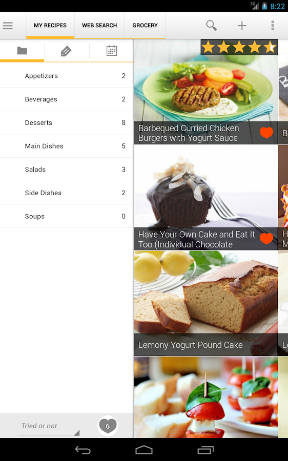 Simple Recipe Collector- screenshot