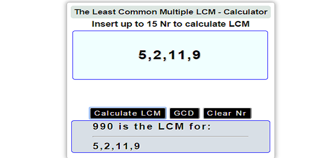 Gcd and lcm calculator apk download | apkpure. Co.