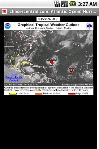 Storm Chaser Hurricane Outlook - screenshot