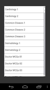 Medical MCQ - screenshot thumbnail