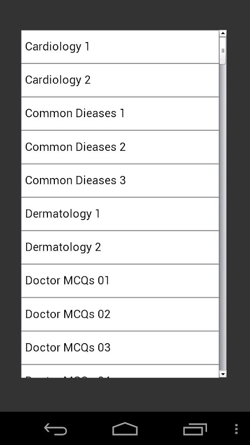 Medical MCQ - screenshot