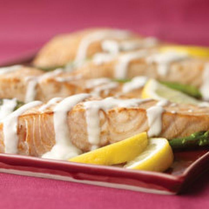 Salmon & Asparagus Hollandaise Recipe