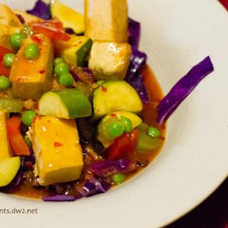 Orange Peel Tofu.