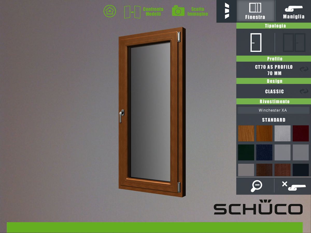 Schüco PVC Italia- screenshot