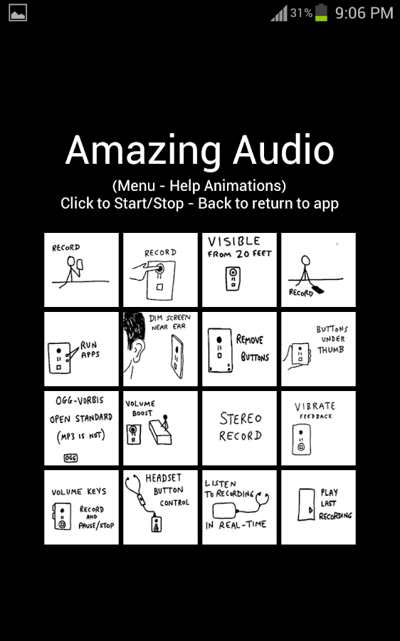 Amazing Audio Voice Recorder- screenshot