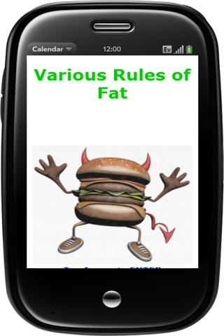 Various Rules of Fat- screenshot